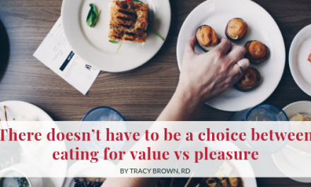 There Doesn't Have to be a Choice Between Eating for Value vs Pleasure