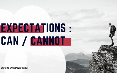 Expectations : Can / cannot