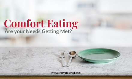 Comfort Eating : Are Your Needs Getting Met?