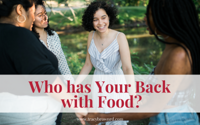 Who Has your back with food?