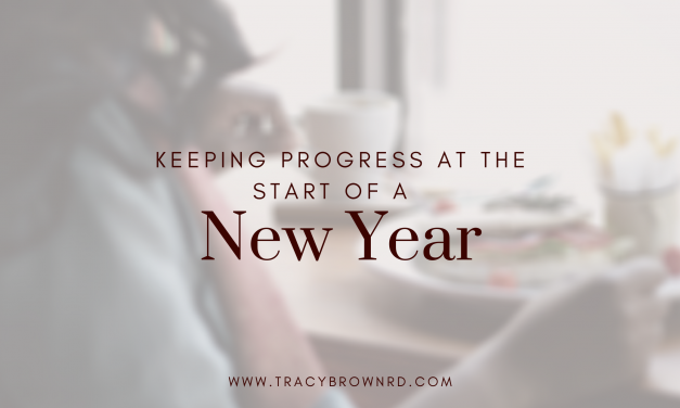 Keeping Progress at the Beginning of a New Year