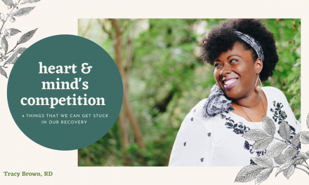 Heart + Mind's Competition : 4 Things we can get STuck on in Recovery