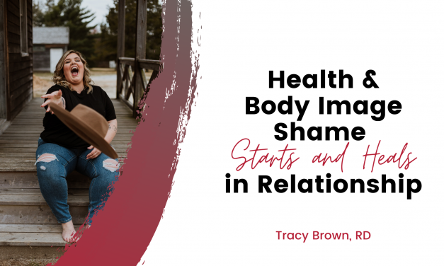 Health and Body Image shame starts & Heals in RElationship
